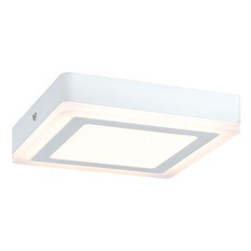 Plafony kwadratowe SOL LED białe - barwa ciepła