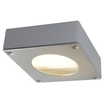 Quadra 44D downlight GX53 IP44 - srebrnoszary