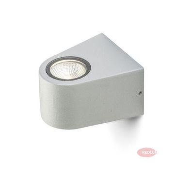 SIX ścienna srebrnoszara LED 3W IP54