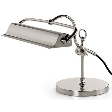THPG Lampka mosiężna niklowana E14