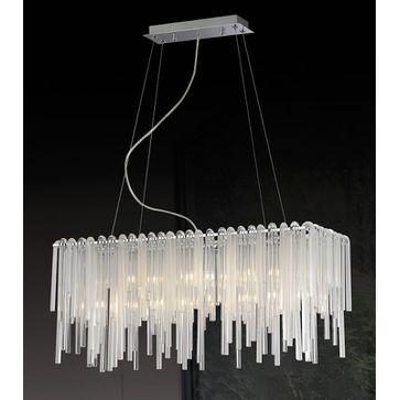 Lampy wiszące EON G9 -chrom
