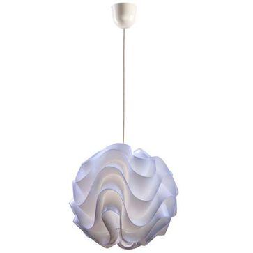 Żyrandol IDA E27 biały