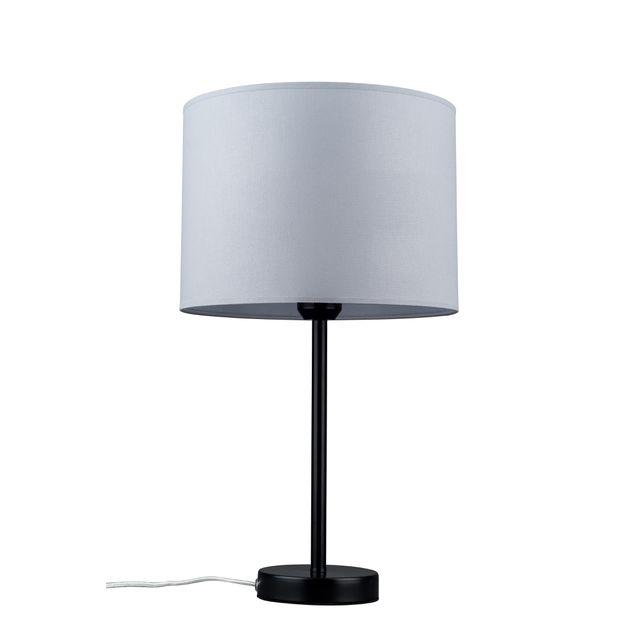Lampa Stolowa Tamara 1l E27 Czarny Szary